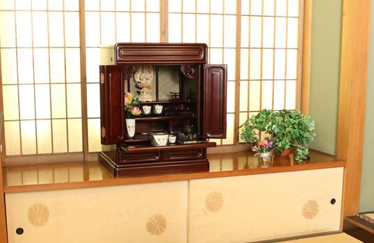 和室にぴったりのお仏壇
