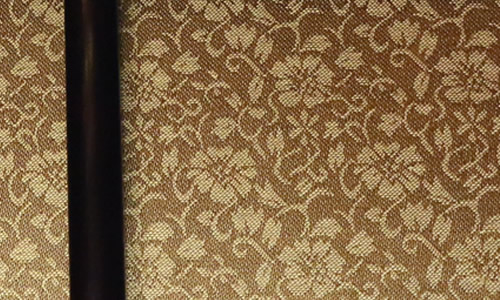 緞子のアップ写真