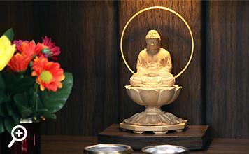 仏像設置イメージ