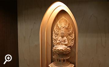 仏像付ダウンライト