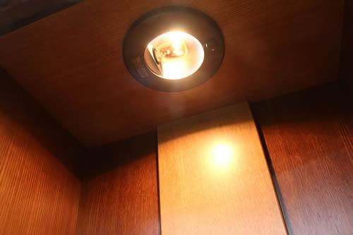 ライト部分の拡大写真