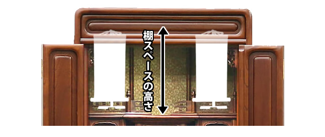 参考:棚のスペース図
