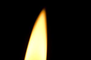 ロウソクの火