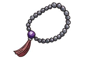 お数珠のかけ方を知ろう