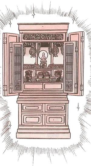 仏壇のお洗濯