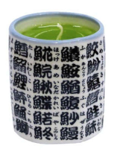【故人の好物ロウソク】緑茶 ローソク