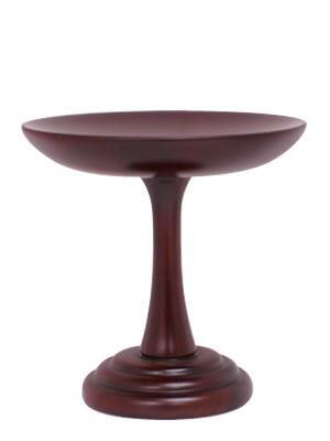 高杯 紫檀製(高月)一対セット