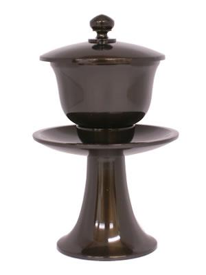 茶湯器 真鍮製 うるみ色